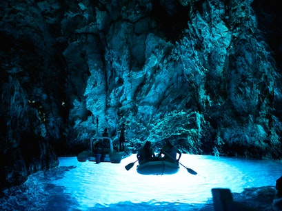 Blue Grotto Podšpilje  Croatia