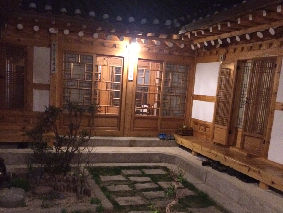 A warm, welcoming traditional Korean house Seoul  South Korea