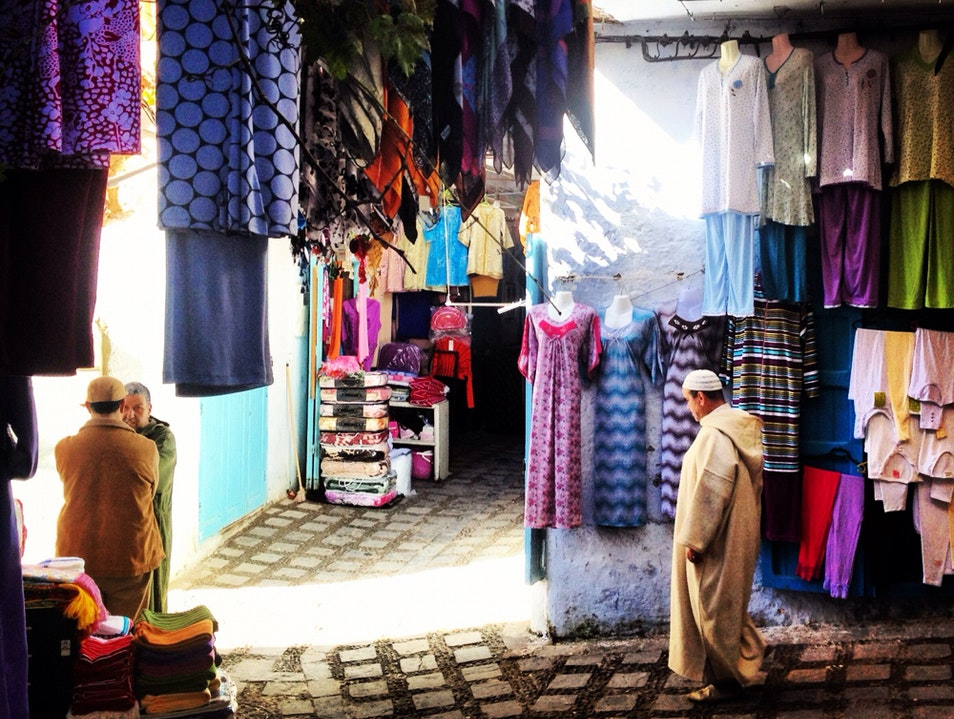 Avoid the Leather Chefchaouen  Morocco