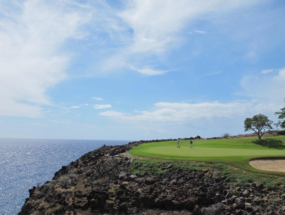 A Tee Shot With A View Wailuku Hawaii United States