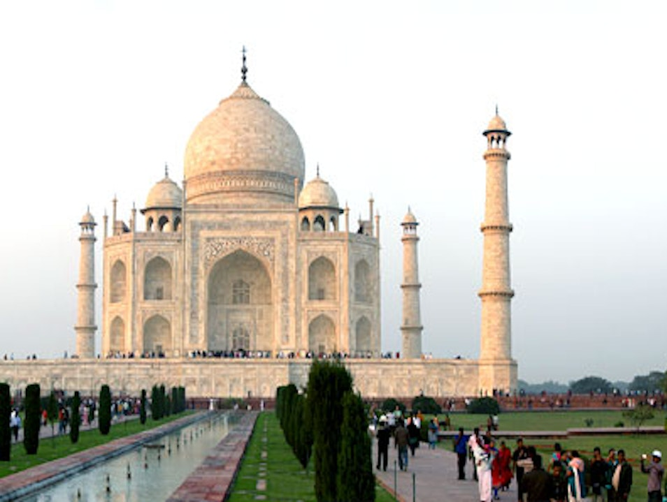Exploring Heritage Monuments of India - Taj mahal  Agra  India