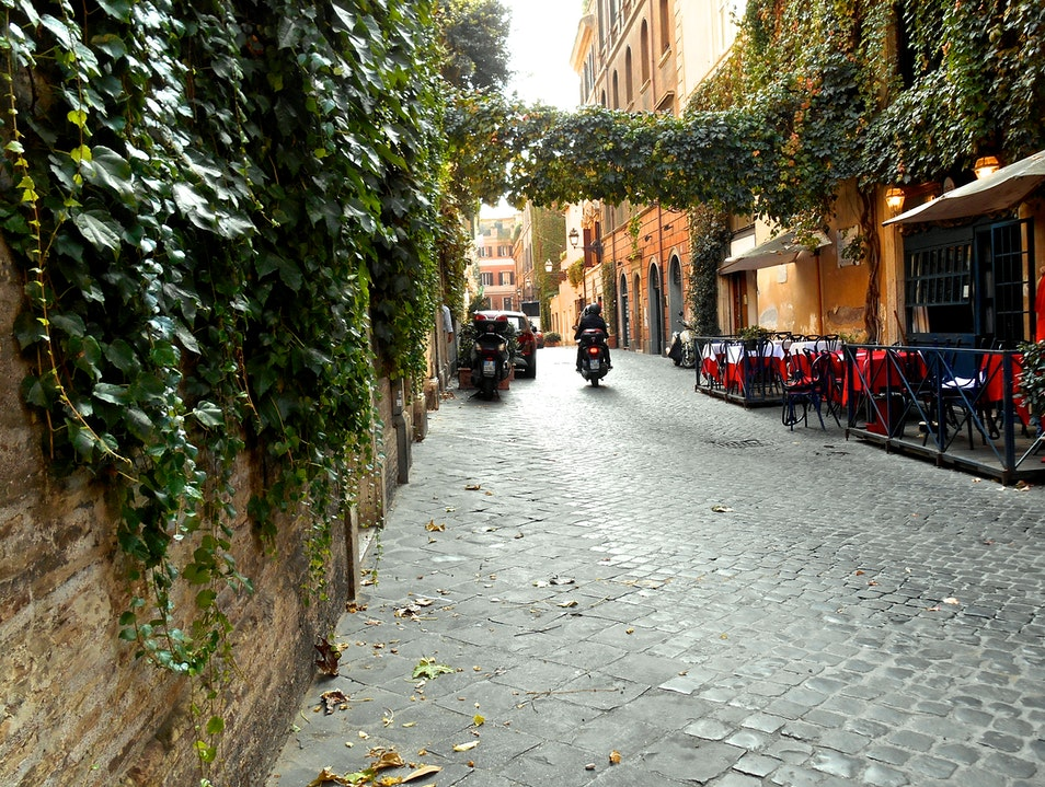 Most Romantic Walks Rome  Italy