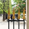 Jardin du Palais Royal Paris  France