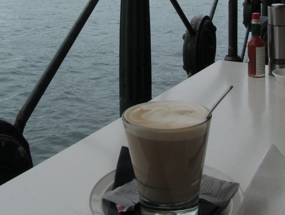 Coffee on Circular Quay Sydney  Australia