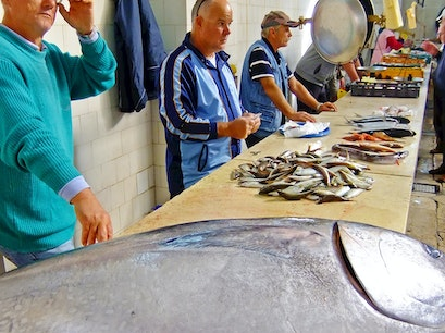 Fish Market Split  Croatia