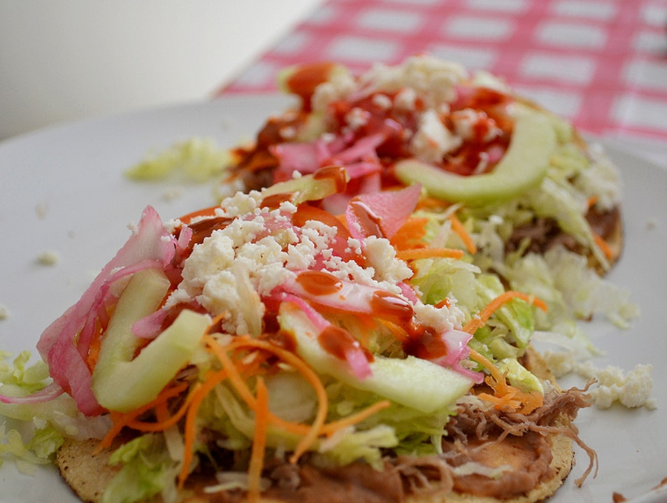 Seafood by the Seashore at Mariscos 8 Tostadas