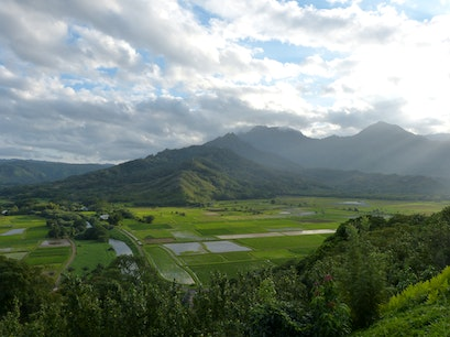 Hanalei Valley Princeville Hawaii United States