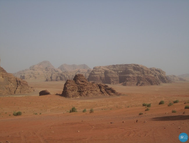A day and a night in Wadi Rum desert