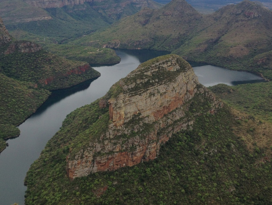 Blyde River Canyon On The Panorama Drive   South Africa