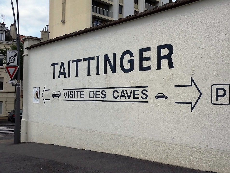 Exploring a Champagne Cave Reims  France
