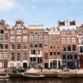 Jordaan District Amsterdam  The Netherlands