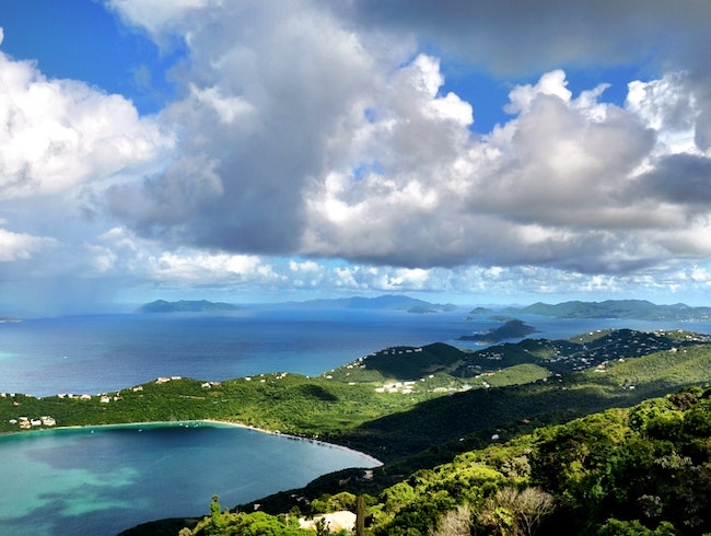 Head to Drake's Seat for the best view on St. Thomas