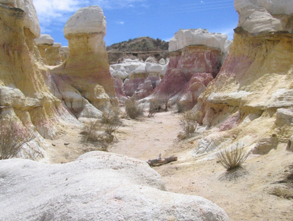 Badlands of Colorado: Paint Mines Interpretive Park Calhan Colorado United States