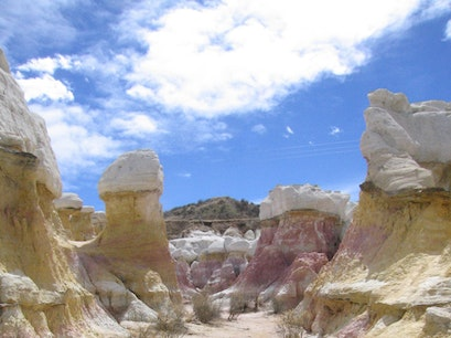 Paint Mines Interpretive Park Calhan Colorado United States