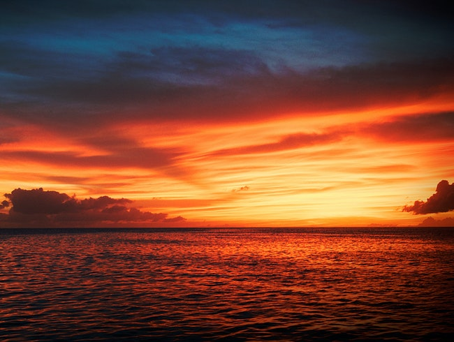 Sailing for Sunsets in the Grenadines
