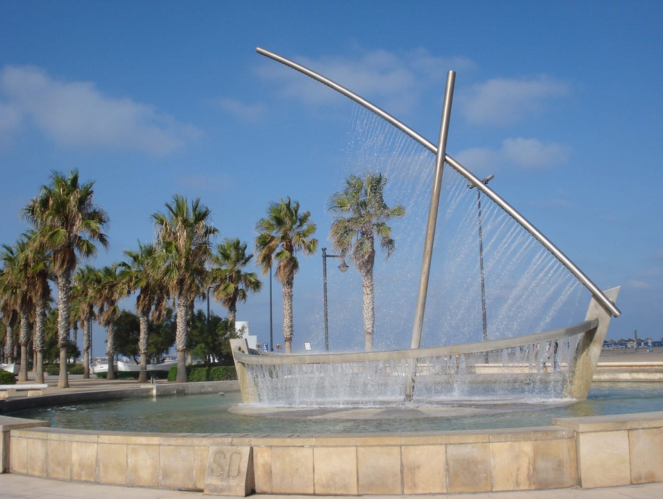 A Sculpture Made of Water Valencia  Spain