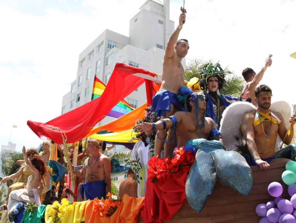 Celebrate Gay Pride in Miami Beach Wilton Manors Florida United States