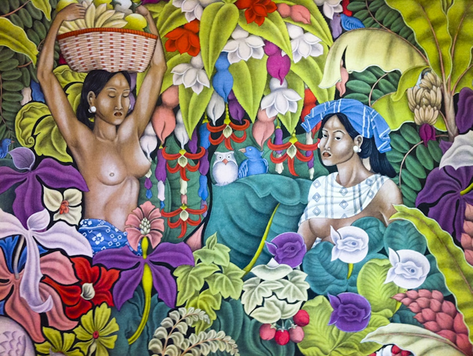 Suteja Neka's Amazing Art Collection Abiansemal  Indonesia