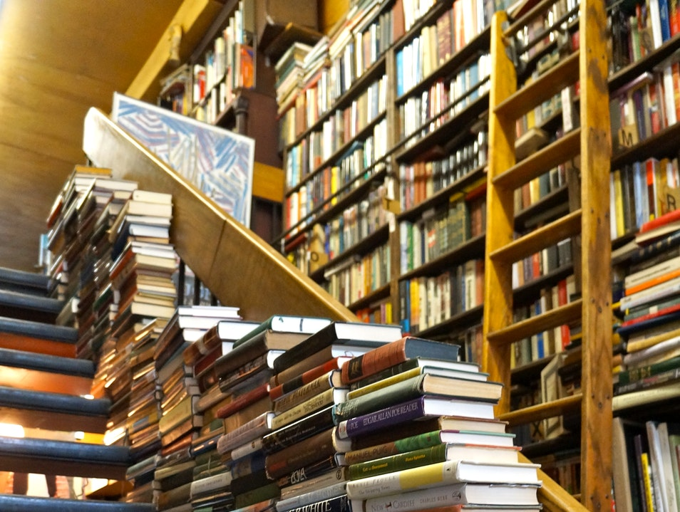 Books Galore Tucked in the Upper West Side New York New York United States