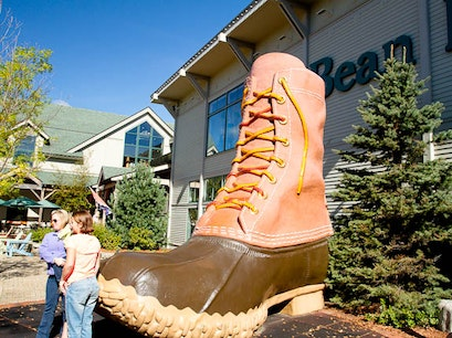 L.L. Bean Flagship Store Freeport Maine United States