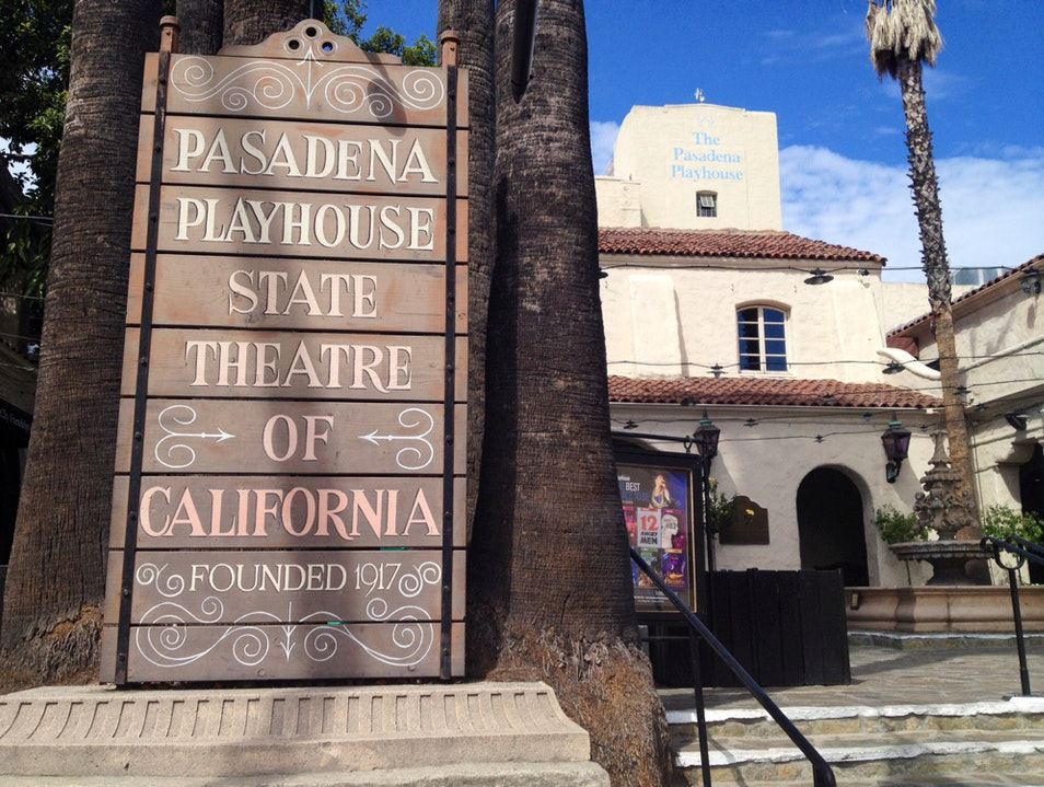 Pasadena Playhouse Pasadena California United States