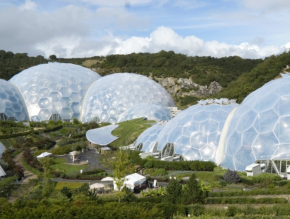 Eden Project Bodelva  United Kingdom
