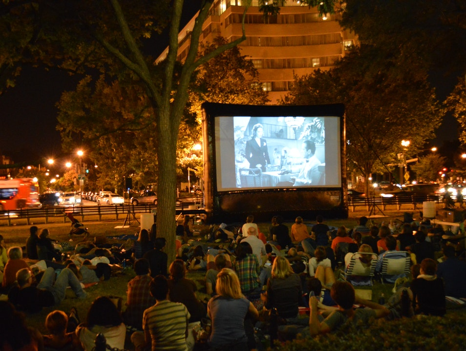 Summer Outdoor Movies Washington, D.C. District of Columbia United States