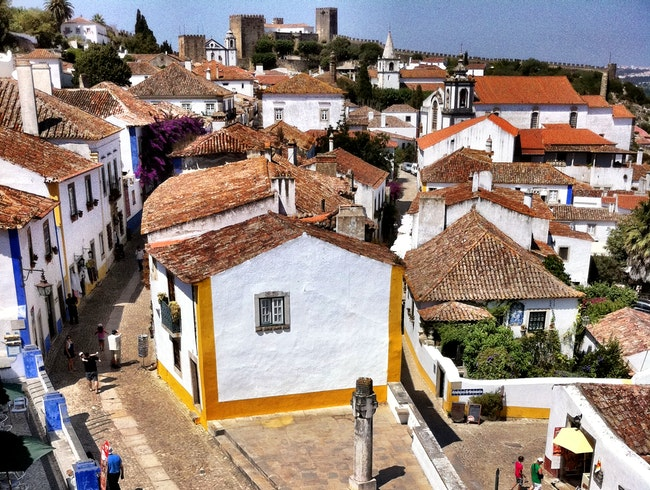 A Gift for a Queen: Obidos, Portugal