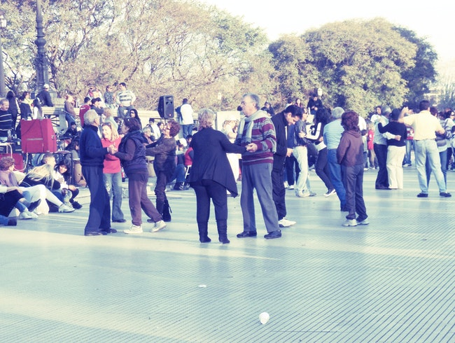 Sunday Milonga in Buenos Aires