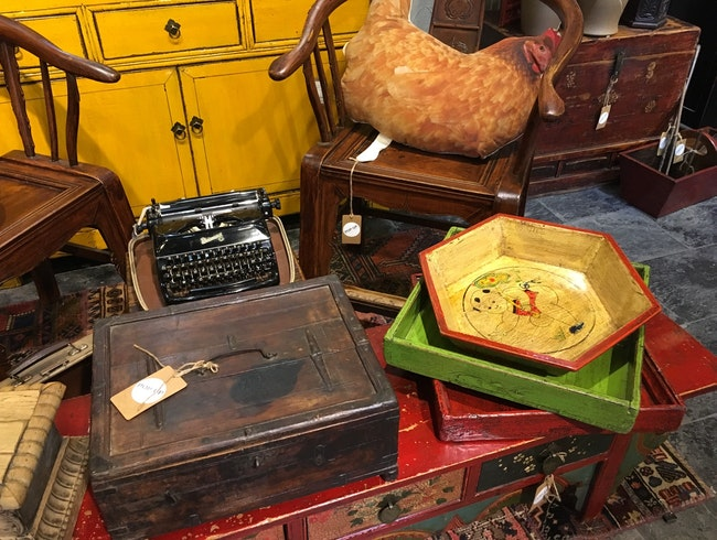 Antiques With a Fresh Twist