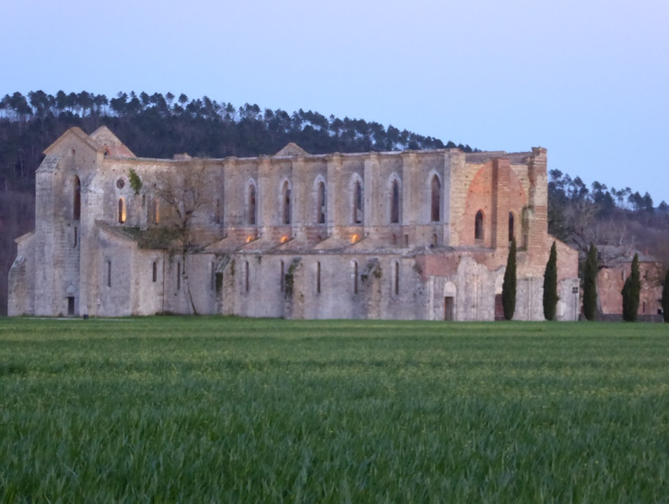 San Galgano- Legend of King Arthur Chiusdino  Italy