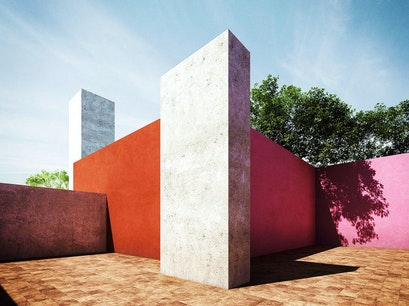Casa Luis Barragán Mexico City  Mexico
