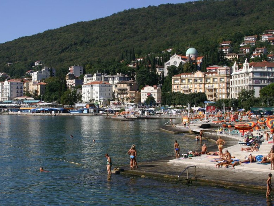 Exploring the beautiful Opatija Opatija  Croatia