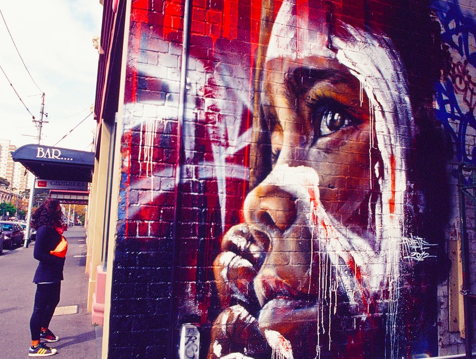 The Amazing Street Art of Fitzroy - Melbourne, Australia Fitzroy  Australia