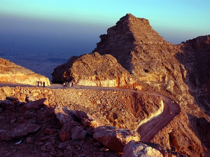 Jebel Hafeet Summit Al Ain  United Arab Emirates