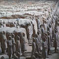Emperor Qinshihuang's Mausoleum Site Museum (Terracotta Warriors) Xian  China