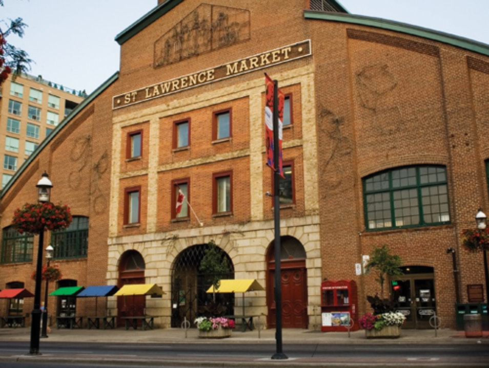 Torontonians Love the St. Lawrence Market  Toronto  Canada
