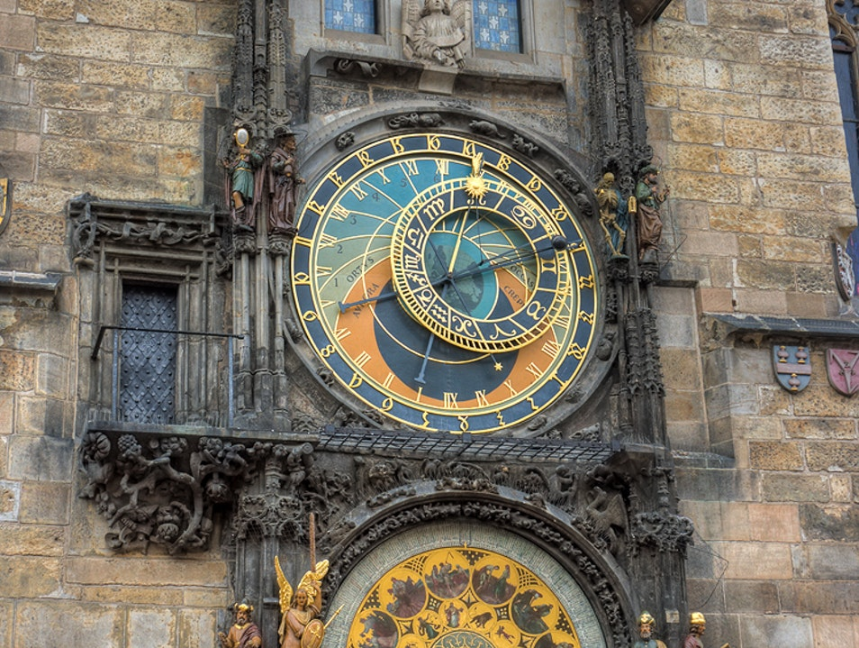 The Prague Astronomical Clock or Prague Orloj Prague  Czech Republic