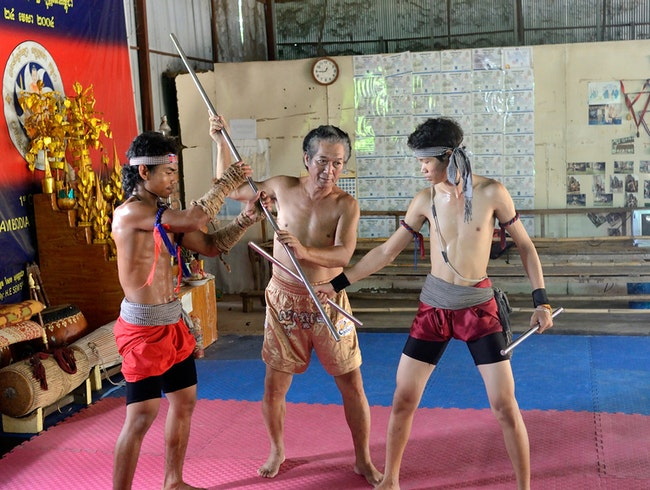 Meet a monk and learn the martial art of Bokator