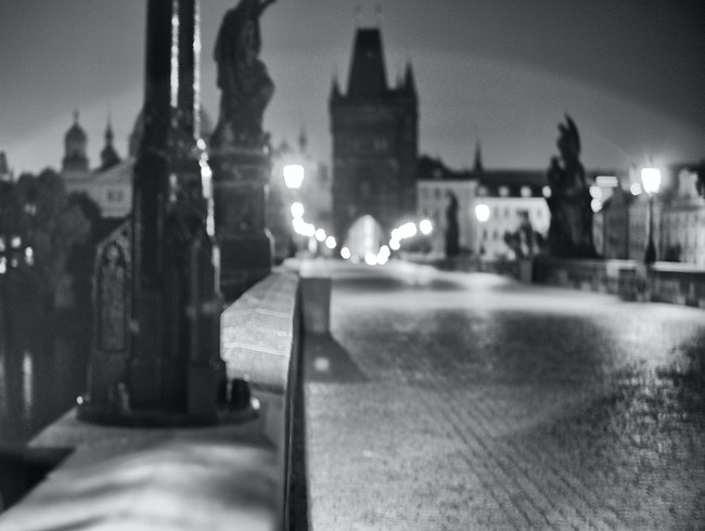 Karluv Most (Charles Bridge) after midnight!