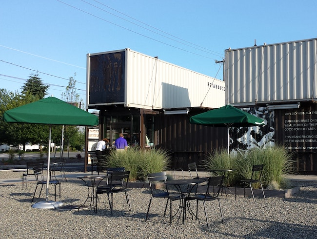 Shipping Containers & Coffee
