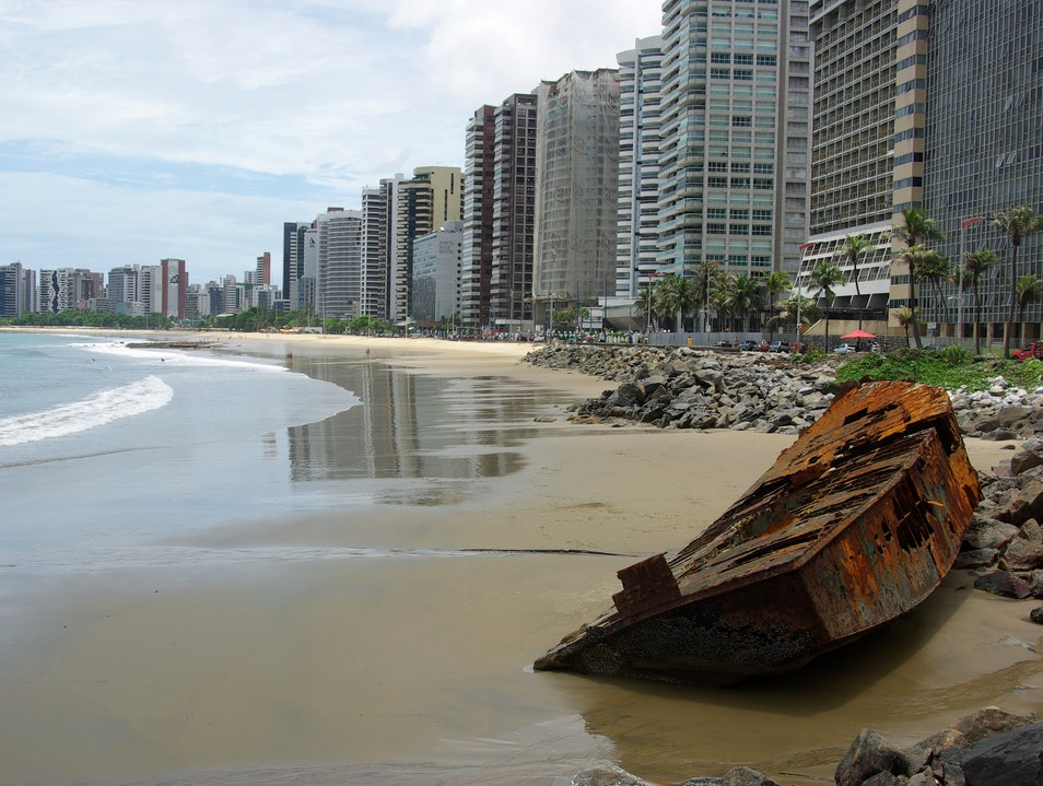 New metropolis, rusty past Fortaleza  Brazil