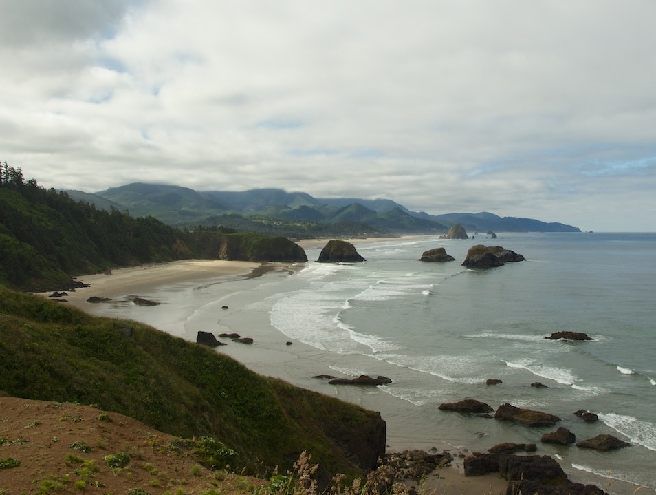 Search for Pirate Ships Amongst the Sea Stacks Seaside Oregon United States