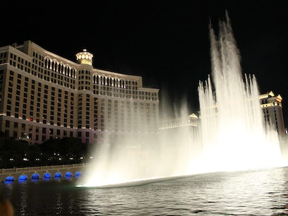 Fountains of Bellagio Las Vegas Nevada United States