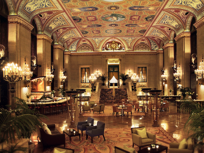 History is Hot at the Palmer House Hilton