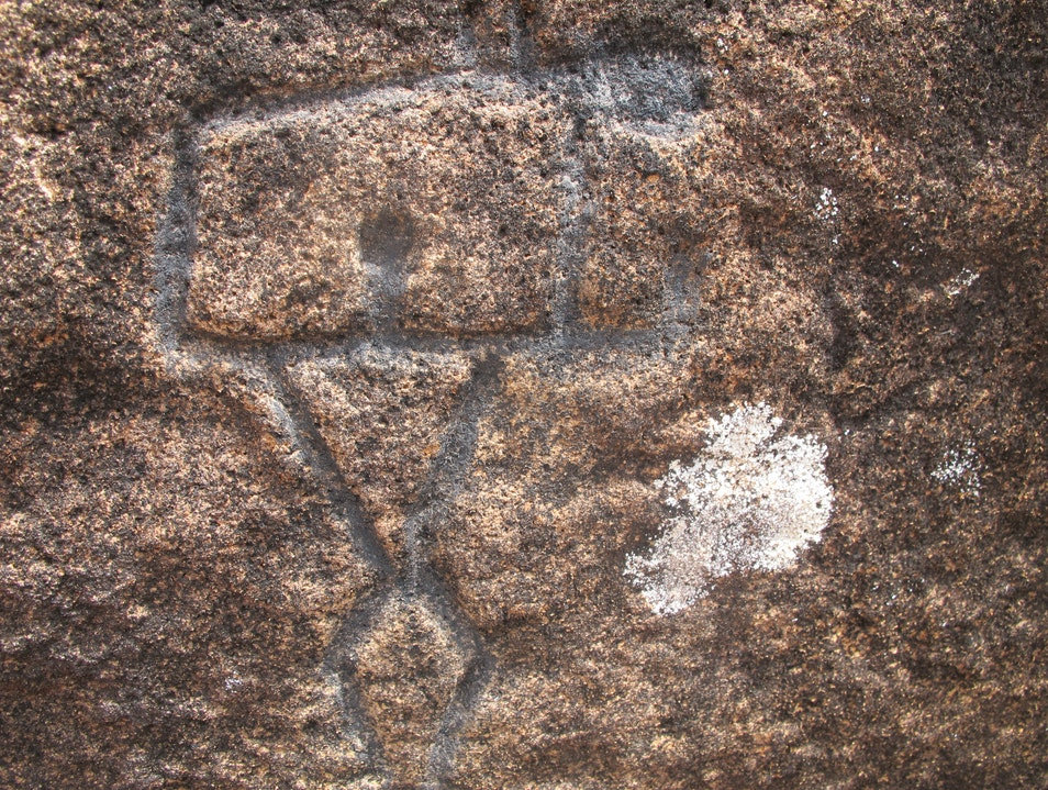 Luahiwa Petroglyphs Lanai City Hawaii United States