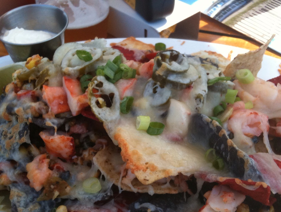 Lobster Nachos!!! North Chatham Massachusetts United States