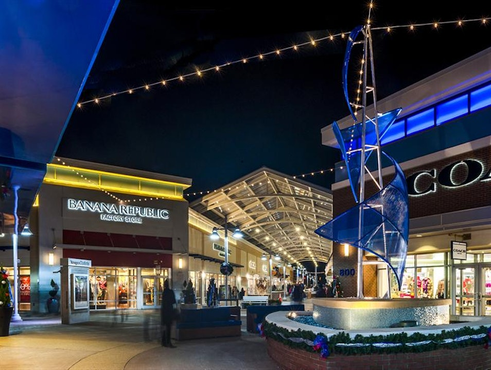 Shop Till You Drop at Tanger Outlets Oxon Hill Maryland United States