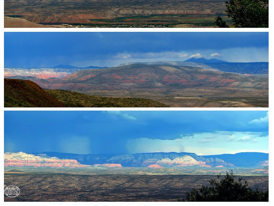 big sky rains Jerome Arizona United States