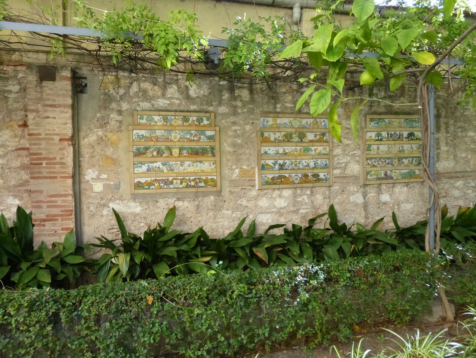 Impressionist Painter's House Museum with an Intimate Secret Garden  Valencia  Spain